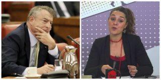 El contundente zasca que le calza el 'bien pagado' Sánchez a la podemita Noelia Vera por ser una bocachancla hablando censura en TVE