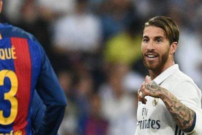 Sergio Ramos manda un mensaje fuera de cámara a Piqué (¡Tremendo!)