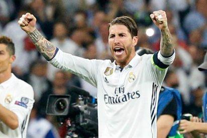 Sergio Ramos sube la temperatura con un recadito que deja Gerard Piqué por los suelos