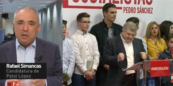 Simancas saca la cara por 'La Sultana' y acusa a los sanchistas de querer guerra en el PSOE