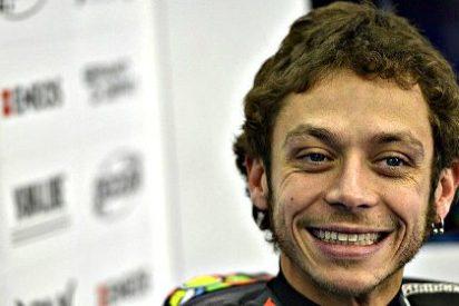 Valentino Rossi (Yamaha) sufre un accidente haciendo motocross