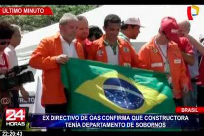 Brasil: exejecutivo de OAS confirma que tenían departamento de sobornos