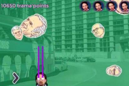 Choteo con el videojuego donde Iglesias fulmina a políticos y empresarios: ¡'Trama Wars'!