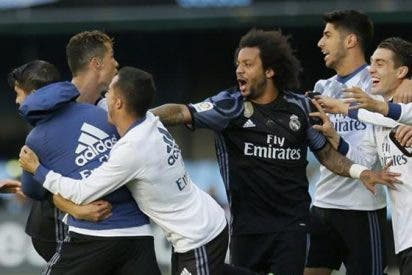 ¡Tensión e insultos! La pelea no contada que encendió los vestuarios del Celta - Real Madrid