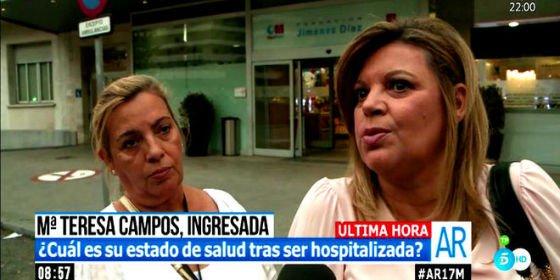 Terelu habla por primera vez sobre el estado de salud de su madre (pero no en 'Sálvame')