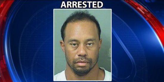 Tiger Woods, detenido en Florida por conducir borracho y drogado perdido