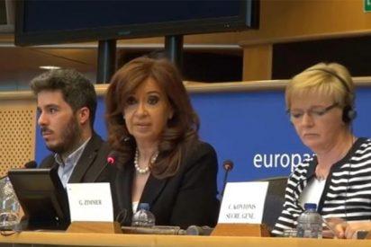 [VÍDEO] Escrache a Cristina Kirchner en el Parlamento Europeo