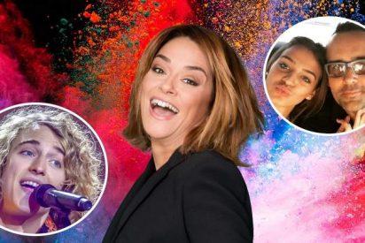 Toñi Moreno estrena 'Viva la vida' con la boda de Risto y Laura Escanes