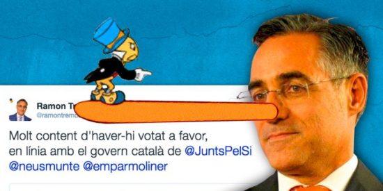 Un eurodiputado se basta solito para dejar en bolas al independentismo