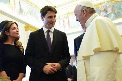 Trudeau plantea al Papa que la Iglesia pida perdón a los indígenas