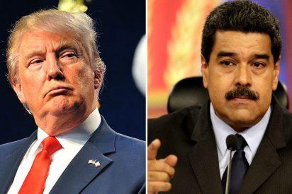 """El chavista Maduro se lanza ahora contra Trump y le acusa de financiar una """"insurgencia armada"""""""
