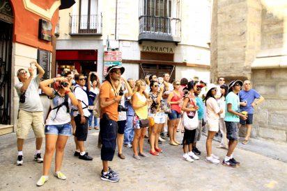 España recibió casi 20 millones de turistas internacionales hasta abril de 2017