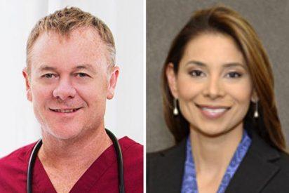[VÍDEO] Así es la cara del presunto asesino que degolló a estos dos médicos