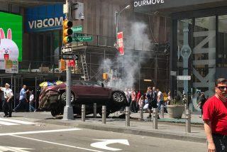 [VÍDEO] Un atropello en la plaza de Times Square de Nueva York deja un muerto y varios heridos