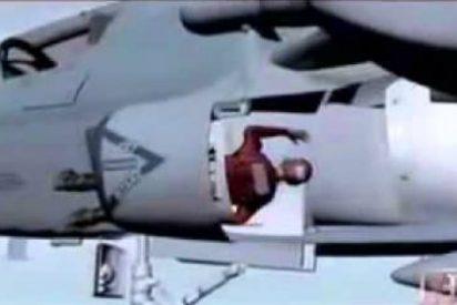 El terrible vídeo del soldado estadounidense absorbido por el motor de un caza