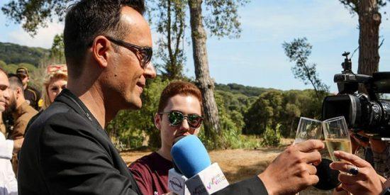 Risto y Laura Escanes llenaron su boda VIP de televisivos políticos y futbolistas