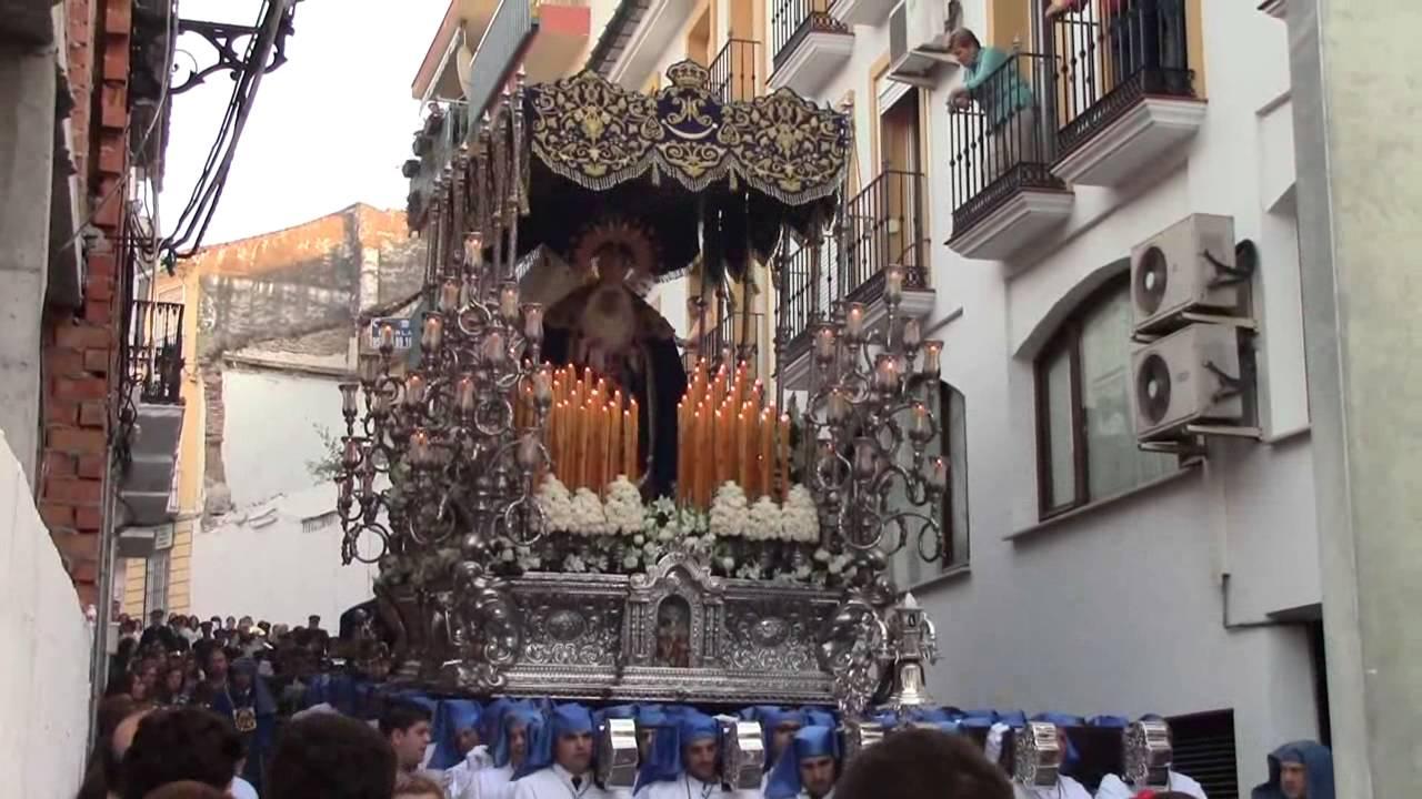 Cóctel molotov contra la Virgen de los Desamparados de Vélez-Málaga