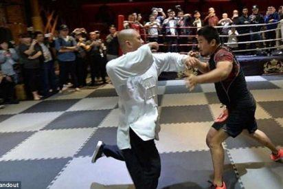 La feroz pelea entre un maestro de Tai Chi y el campeón de MMA