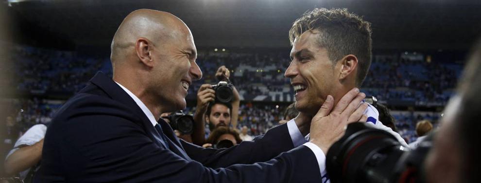 Zidane echa el freno a una venta sonada en el Real Madrid (y Cristiano da el visto bueno)