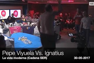La burda pelea en los estudios de la SER entre el podemita Pepe Viyuela e Ignatius