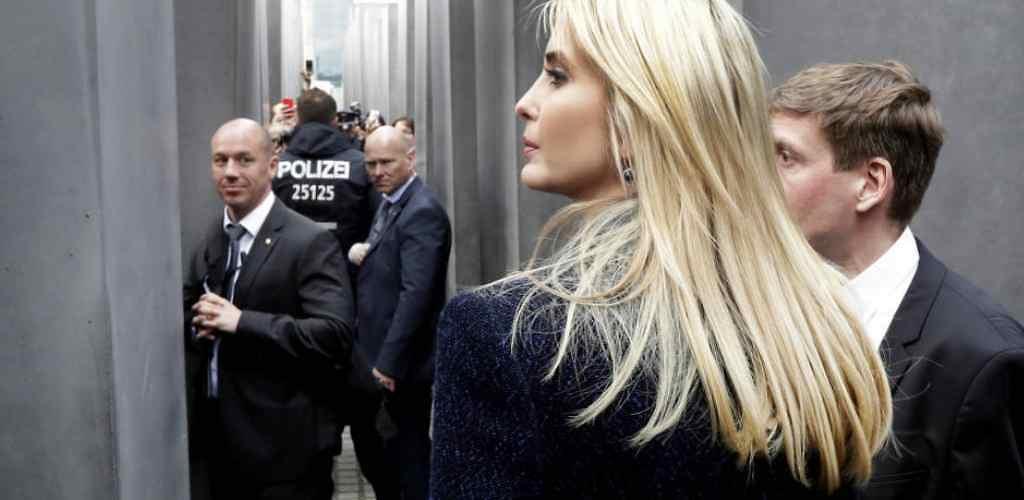 Ivanka Trump: con la muerte en los tacones