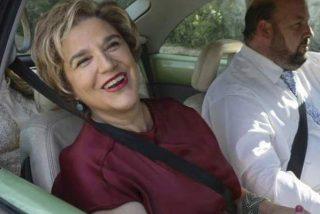 La independentista Pilar Rahola, su marido 'facha' y el colegio suizo de 130.000 € de su hija