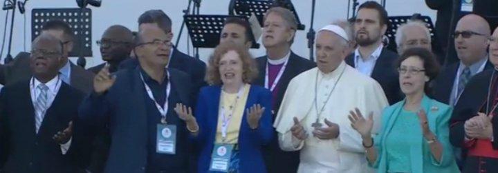 """El Papa implora por la unidad de los cristianos """"para demostrar que la paz es posible"""""""