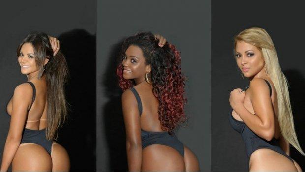 Las candidatas brasileñas al mejor trasero: ¡Miss BumBum!