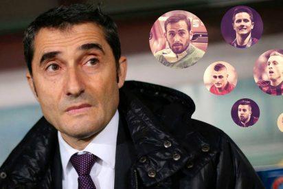 El Barça intenta colarle un gol por toda la escuadra a Ernesto Valverde