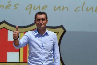 La llegada de Ernesto Valverde al Barça pone a un crack en fuga