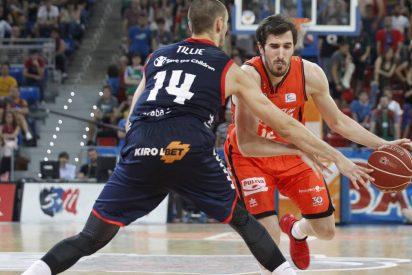 Ricky Ledo y Hanga empatan la semifinal: Baskonia 90 - Valencia Basket 70