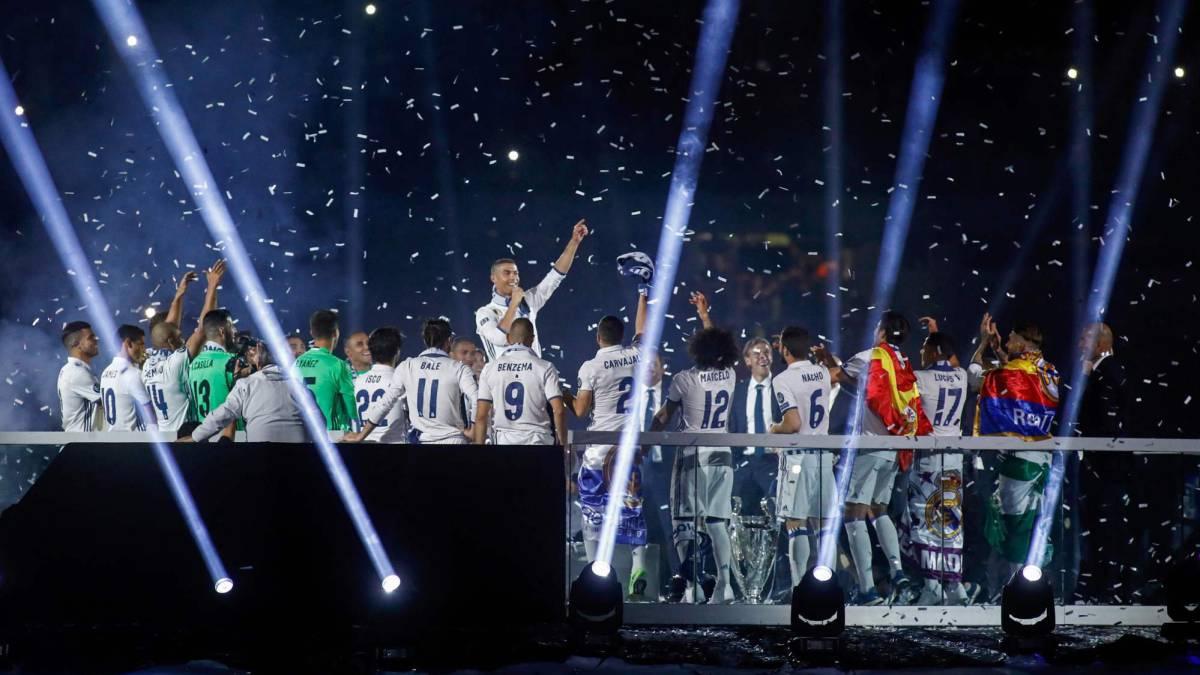 """Cristiano cantó con el Bernabéu: """"¡Balón de Oro, Cristiano!..."""""""