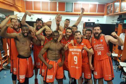 """A la final al grito de """"sí, sí, sí, nos vamos a Madrid"""": Valencia Basket 85 - Baskonia 77"""