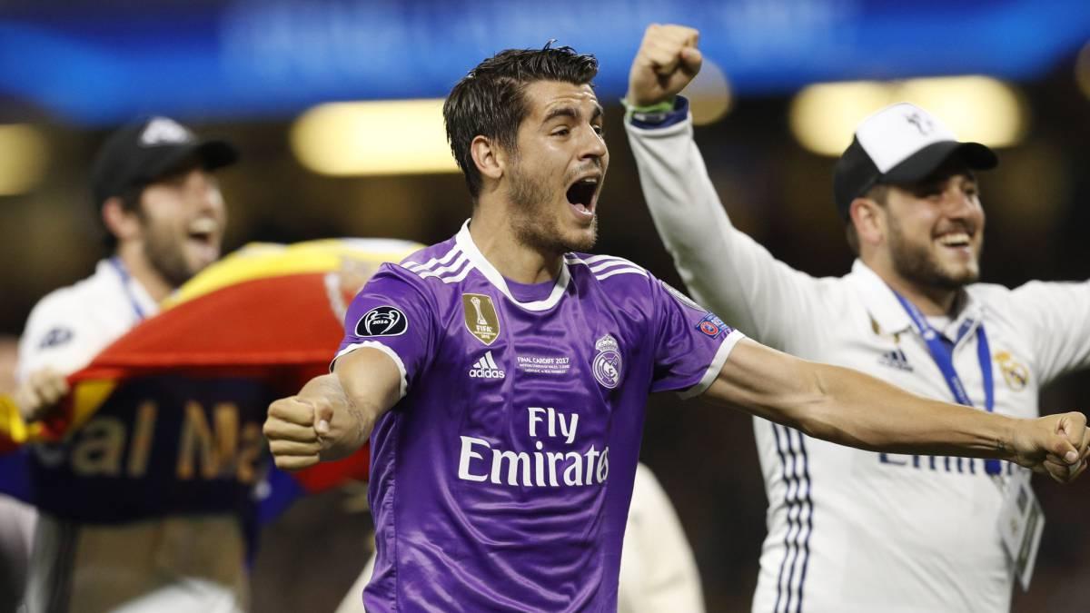 El gran Alvaro Morata anuncia al Real Madrid que se marcha del club