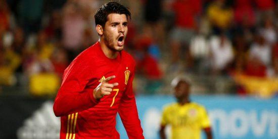 No hay amistosos para Morata: España 2 - Colombia 2