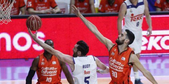 Llull y el mejor Rudy del año sofocan la rebelión taronja: Real Madrid 87 - Valencia 81