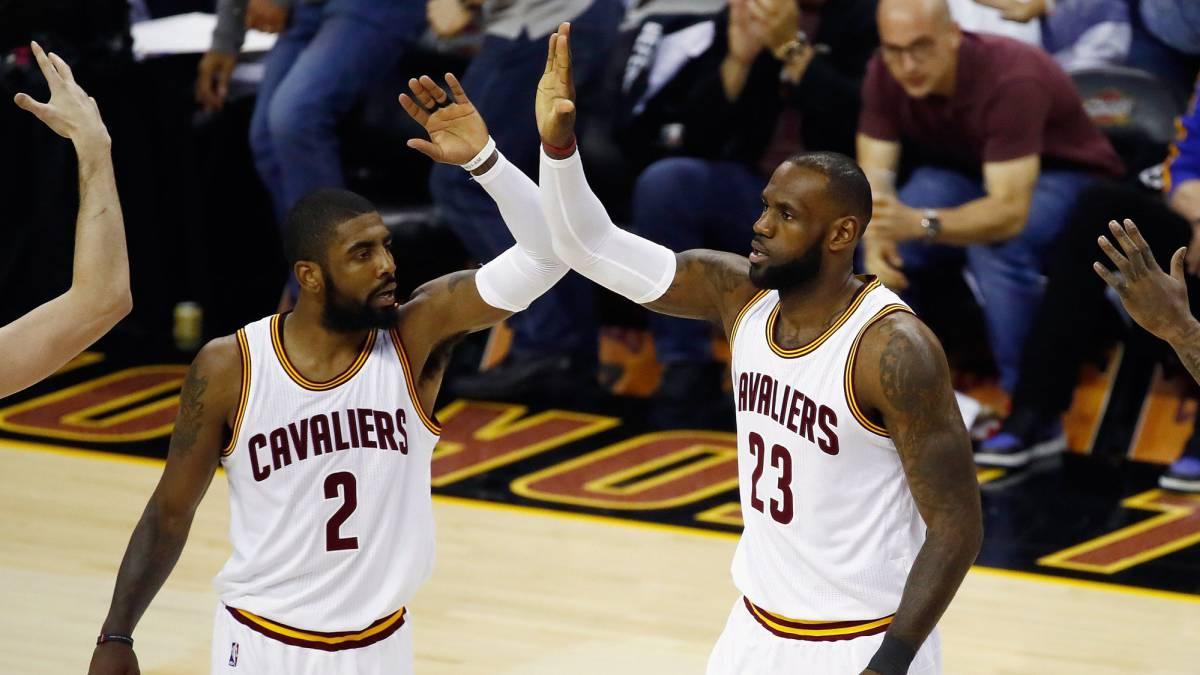 NBA: Kyrie y LeBron resucitan al y habrá quinto partido