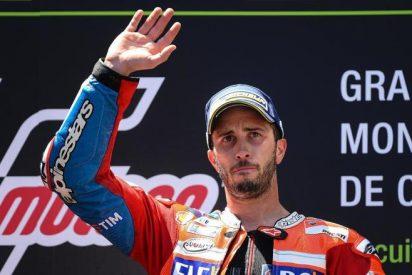 Dovizioso repite triunfo, Márquez y Pedrosa firman un valioso podio