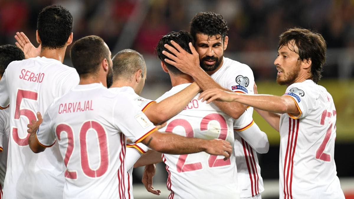 Del arte al alambre: Macedonia 1 - España 2