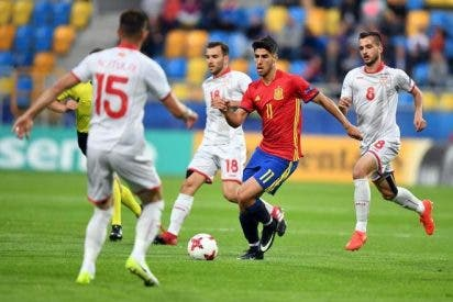 Marco Asensio vale por tres: España 5 - Macedonia 0