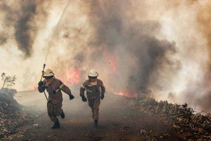 Un enorme incendio forestal en Portugal deja al menos 62 muertos y 59 heridos