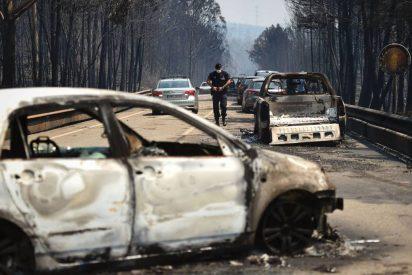La carretera del la muerte: 61 muertos en el incendio de Portugal