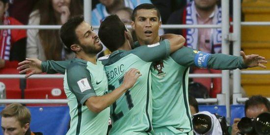 Cristiano acerca a Portugal a semifinales y México no falla con Nueva Zelanda