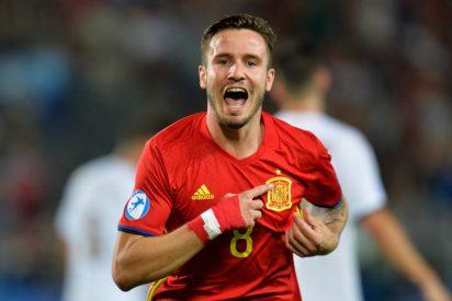 Un triplete de Saúl mete a la sub 21 en la final: España 3 - Italia 1