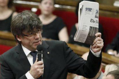 El Parlamento catalán veta para las subvenciones a los medios que no publiciten el referéndum ilegal
