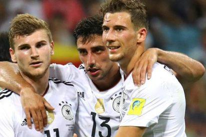 Alemania no tiene piedad de México y se cita con Chile en la final de la Copa Confederaciones
