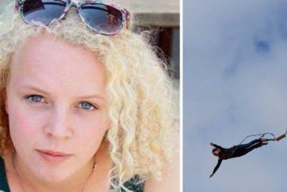 La holandesa entendió mal el inglés del instructor español de 'bungee' y saltó hacia su muerte
