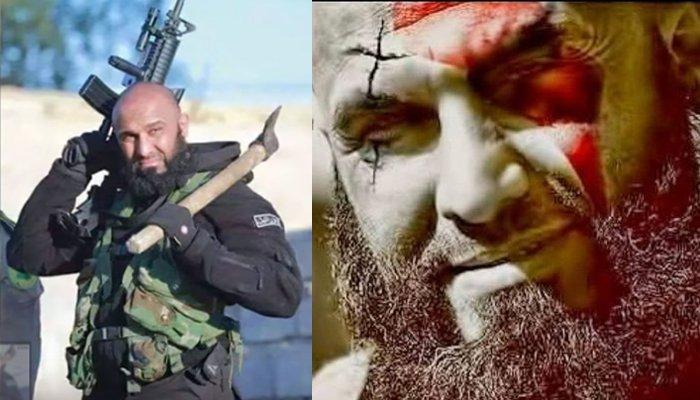 El vídeo prohibido del 'Ángel de la Muerte' convirtiendo en kebab a un diabólico yihadista