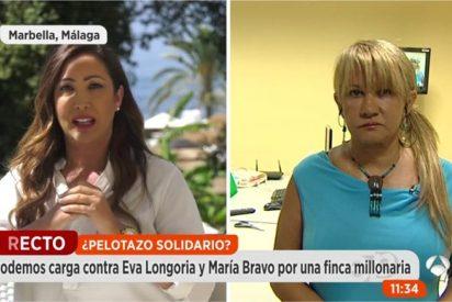 María Bravo se enfrenta a Podemos por una finca solidaria