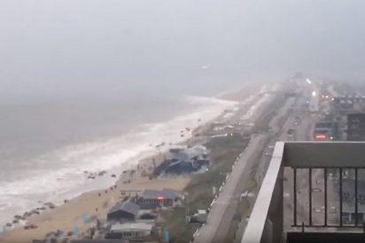 [VÍDEO] El 'mini tsunami' que sacudió la costa de Holanda